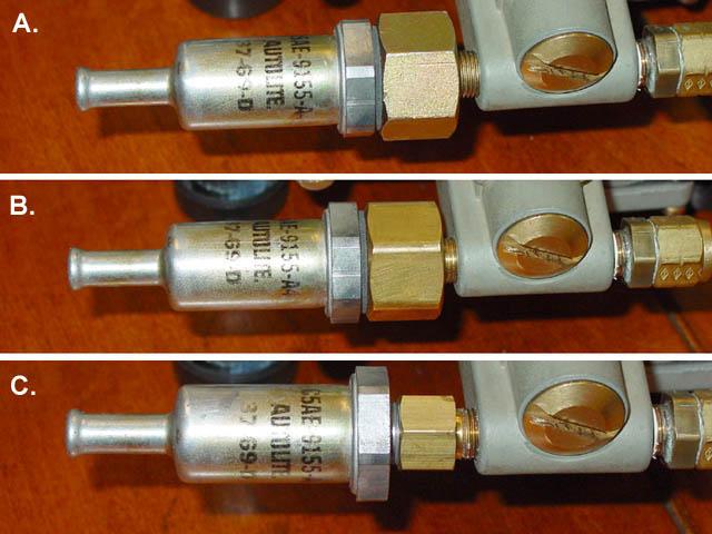 66 gt350 fuel filter adapter nut vintage mustang forums. Black Bedroom Furniture Sets. Home Design Ideas